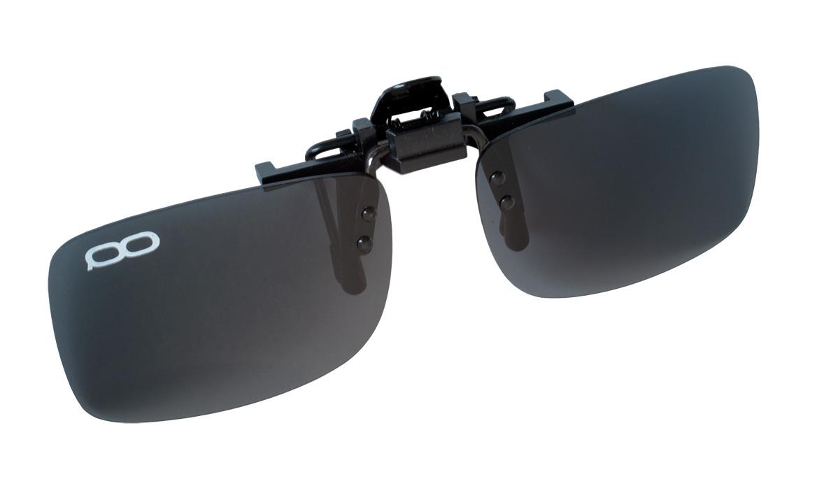 Поляризационные накладки на очки FGPO clip-on Grey