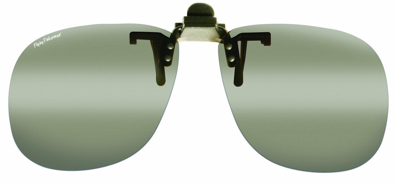 Поляризационные накладки на очки Fly Fish flip-up Square Smoke